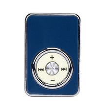 USB wydajne połączenie MP3 bezstratnego odtwarzacz obsługuje karty Micro SD muzyki z karty TF mediów FM radio sport i rozrywka 10 tanie tanio 10 godzin WDD50924287 Radio FM Brak 84dB Bateria litowa Dysk twardy Dotykowy Tone Plastikowe 41mmx28mmx12mm Innych W CARPRIE