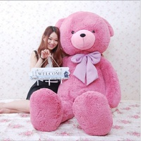 Giant teddy bear super large 1.6 meter high stuffed toys Birthday gift for lovers doll send by EMS very fast
