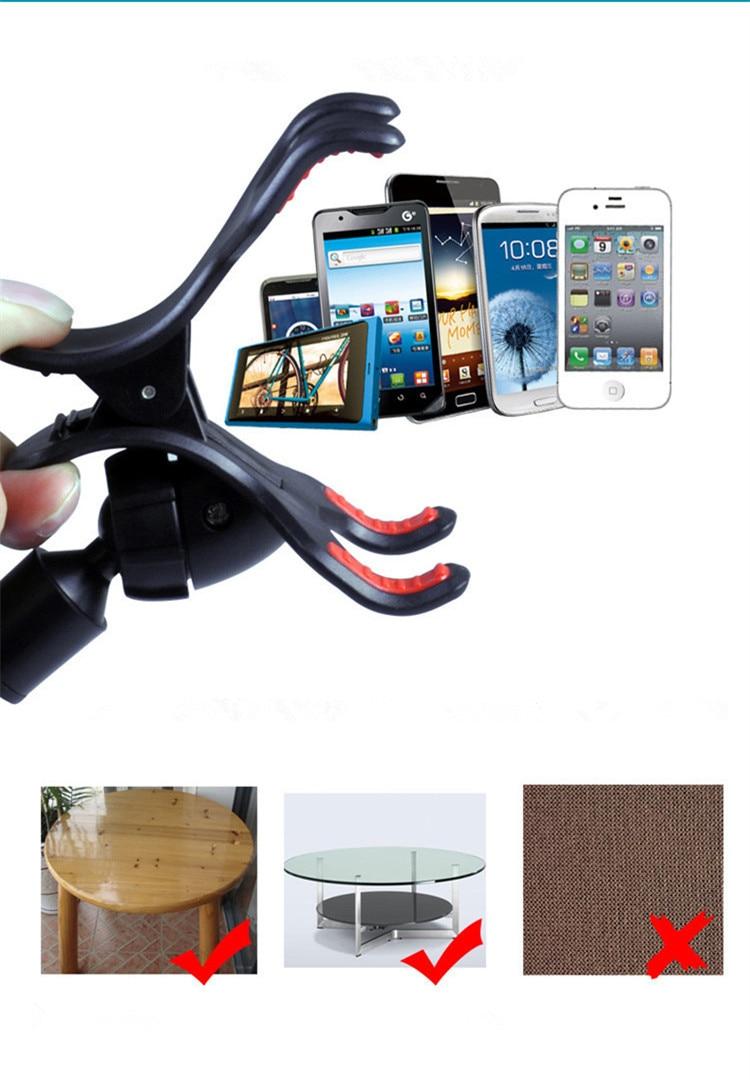 Ny 360 roterande Universal Car Windshield Dual Suction - Reservdelar och tillbehör för mobiltelefoner - Foto 6