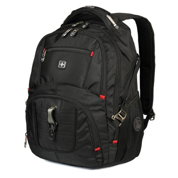 swiss male 17 inch Waterproof travel business Laptop Backpack Men Backpack big capacity colleage men Bagpack Mochila Escolar