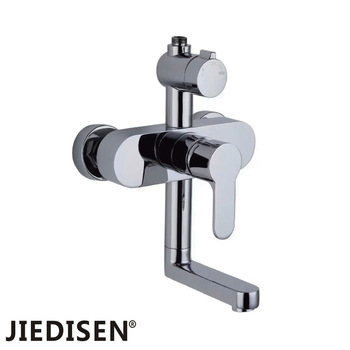 Manufacturers selling all copper mix water faucet Hot and cold shower flower sillcock MJ - 9046