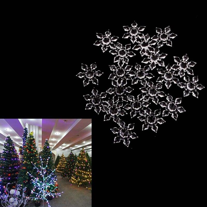 20PCS-Christmas-Decorations-For-Home-Snowflakes-Ornaments-Party-Festival-Xmas-Tree-Hanging-Christmas-Navidad-Tree-Decoration (1) -