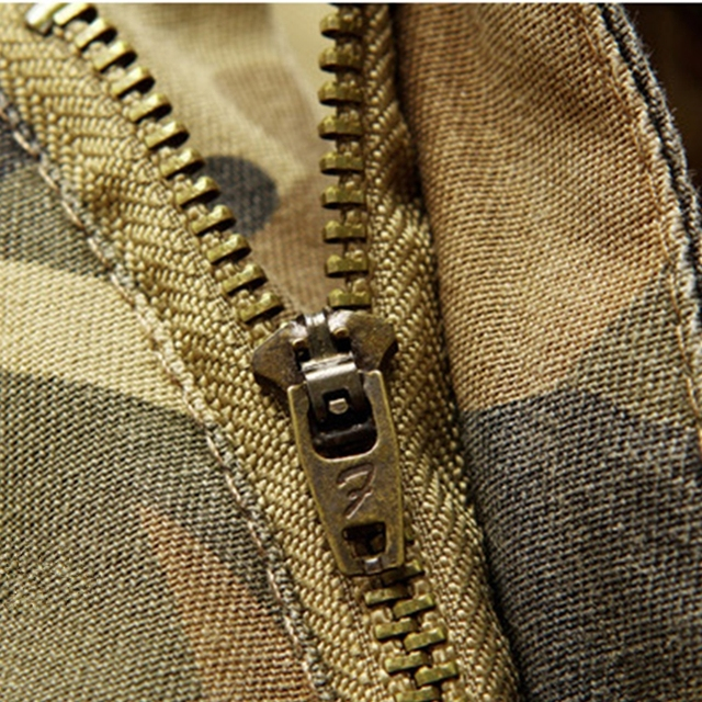 Pants Male Outdoor Multi-pockets Windproof Camping Trekking Cargo Trousers Army