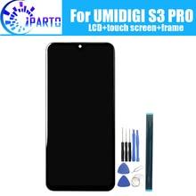 UMIDIGI pantalla LCD S3 PRO, Digitalizador de pantalla táctil, ensamblaje de marco, 100% Original, digitalizador táctil para S3 PRO