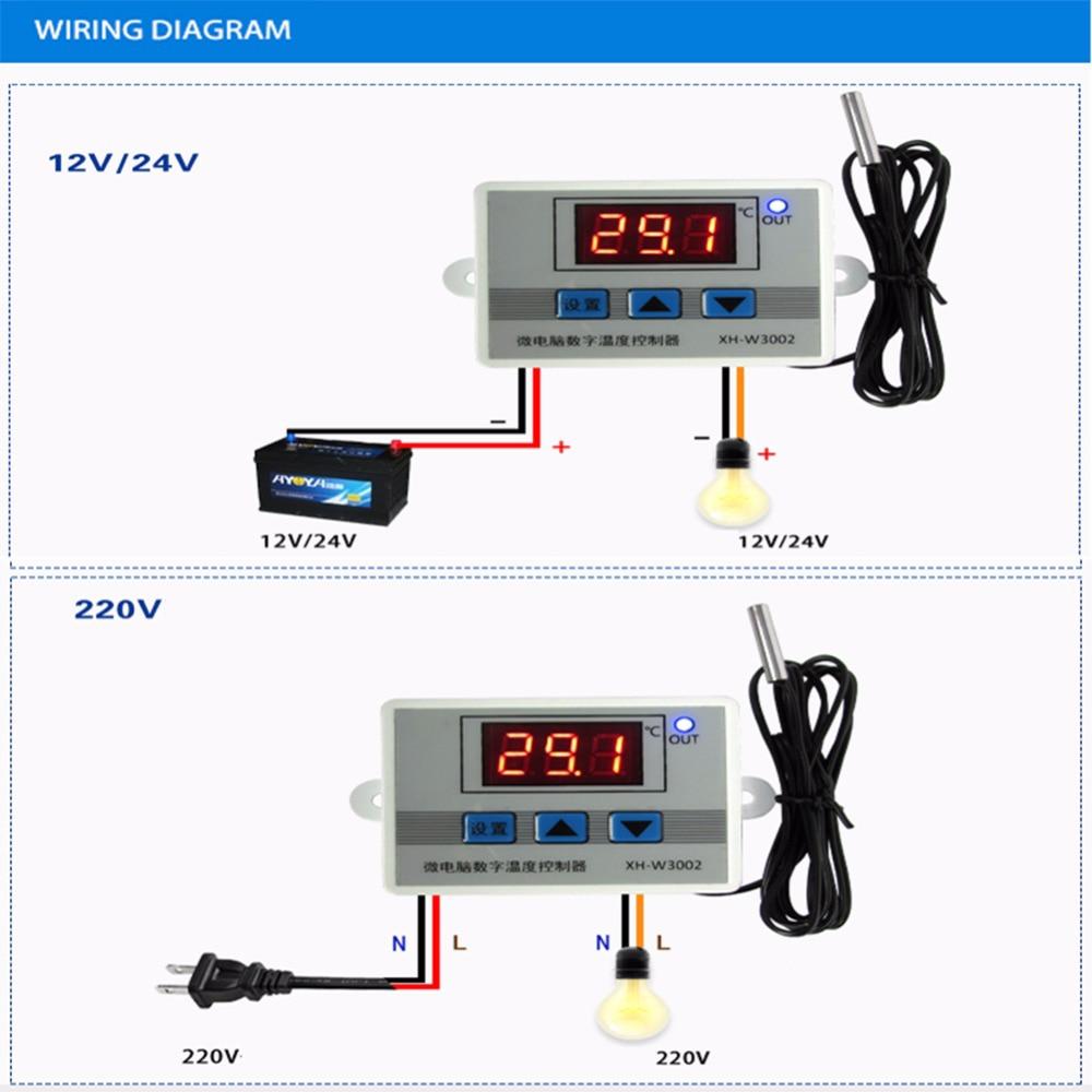 John Deere 3020 Circuit Breaker Wiring And Diagram Hub Planter Red Led Digital Temperature Controller Thermostat Engine 12 Row