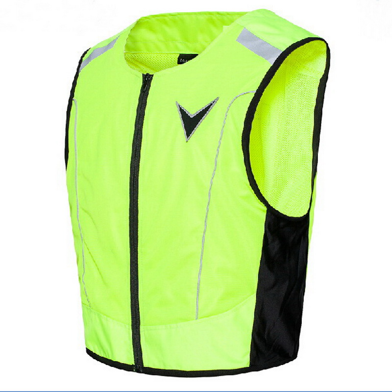 2017 summer New Knight safety protect suit clothing jacket  reflective vest with Protector Fluorescent green upgrade