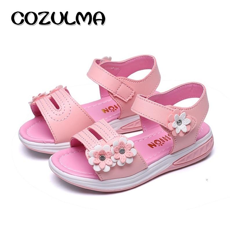COZULMA meisjes bloemen sandalen kinderen strand slippers schoenen - Kinderschoenen - Foto 5