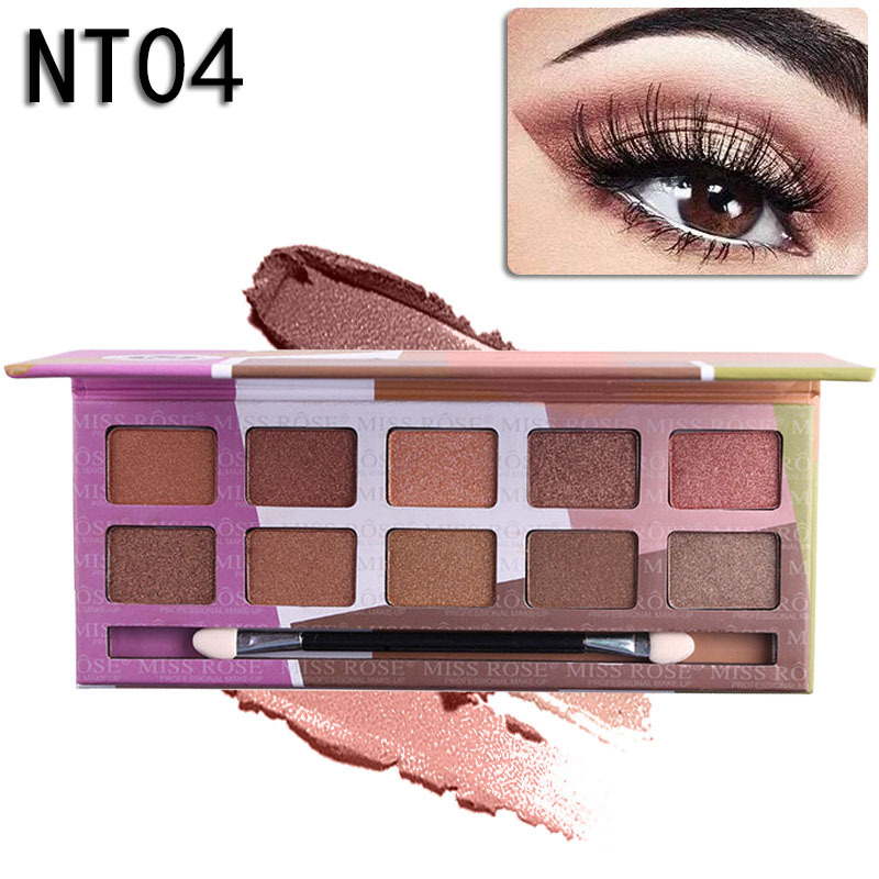 mirss rose yeshadow  shadow palette make up cosmetic beauty Beauty palette makeup eye