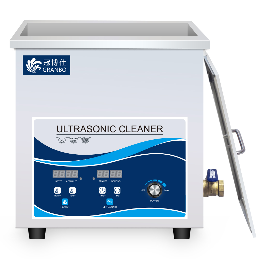 Ultrasonic Cleaner 14L 360W 28KHZ Industrial Cleaning Machine Heating Control Power Adjustable Remove Heavy Oil Rust Carbon Wax in Ultrasonic Cleaners from Home Appliances