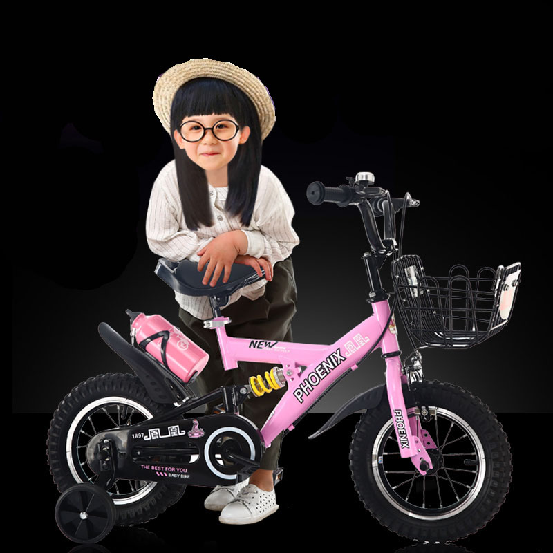 Tiger Child Tricycle Folding 1-3-6 Year Old Baby Trolley Baby Bicycle Baby Bicycle Bicycle