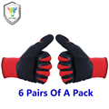 New  Work Garden Gloves Stretchy Farming Proof Protect Stainless Steel Farm Gloves For Men Women 1107