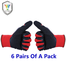 OZERO New Work Garden Gloves Stretchy Farming Proof Protect Stainless Steel Farm Gloves For Men Women 1107