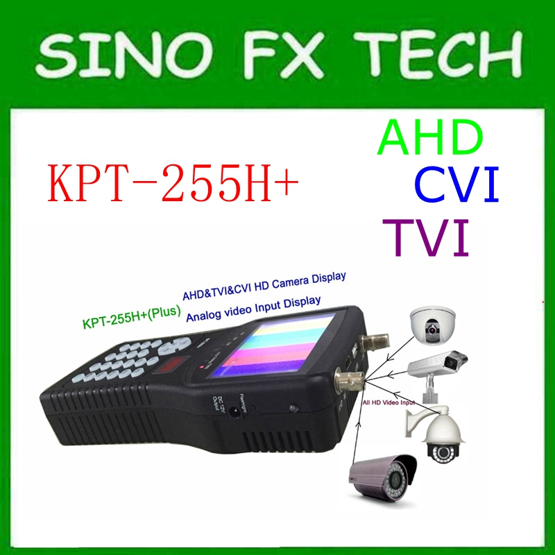 DVB-S2 Digital HD Satellite Finder Meter KPT-255H+ 4.3Inch TFT LCD show channels update from KPT-955H виброплита vektor vpg 160