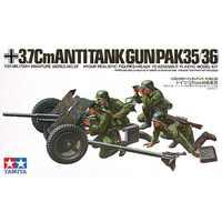 Tamiya 35035 1/35 37mm Antitank Gun Pak35/36 Montage Militär Miniaturen Modell Kits