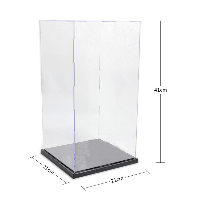 Transparent Acrylic Plastic Display Case for Anime Action Figures Doll Model Display Box Collection Box Show Case