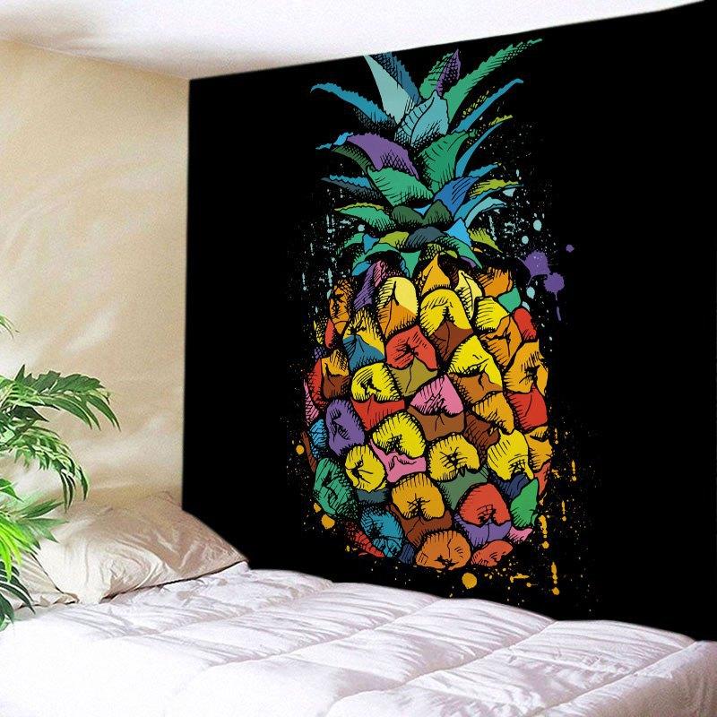 200cmx150cm Rectangle Mandala Indian Tapestry Pineapple Printed Lotus Flower Wall Hanging Bedspread Table Cloth Beach Mat