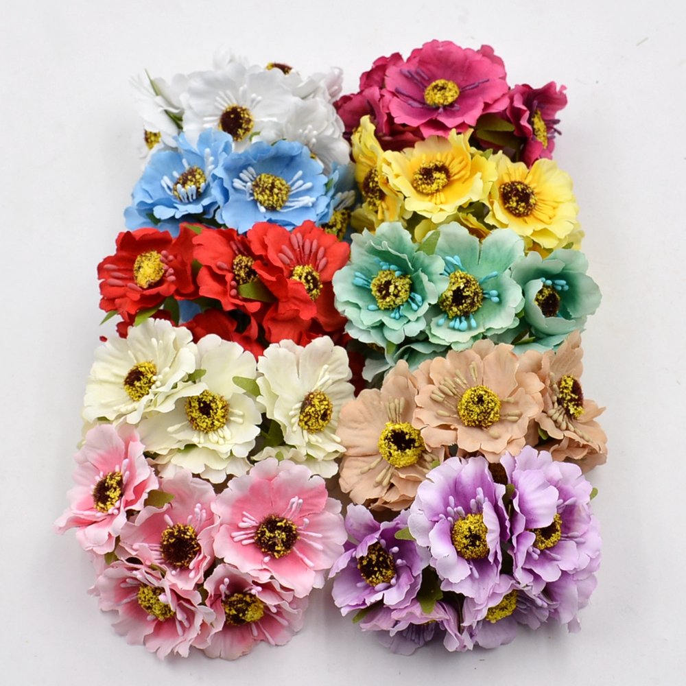High quality silk flowers wholesale image collections flower online buy wholesale silk flower cherry from china silk flower 12pcs artificial flower high quality silk izmirmasajfo