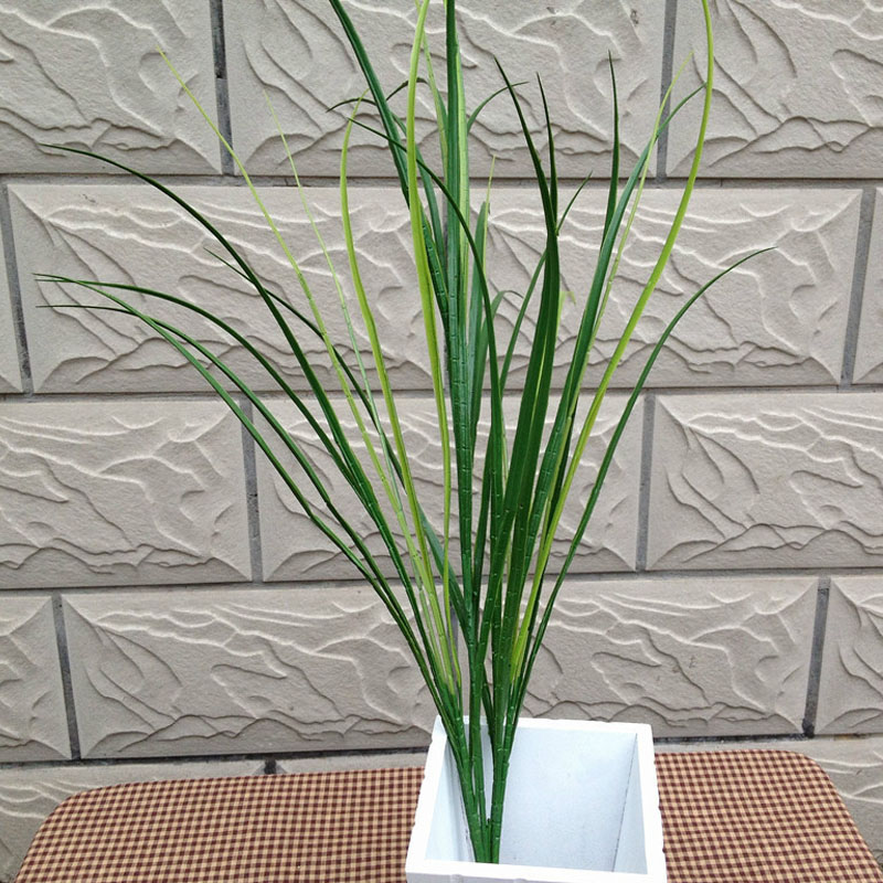 10pc 90cm Simulation Plastic Fresh Grass Ornaments Artificial Green Plants Home Fish Tank Decorative Landscape