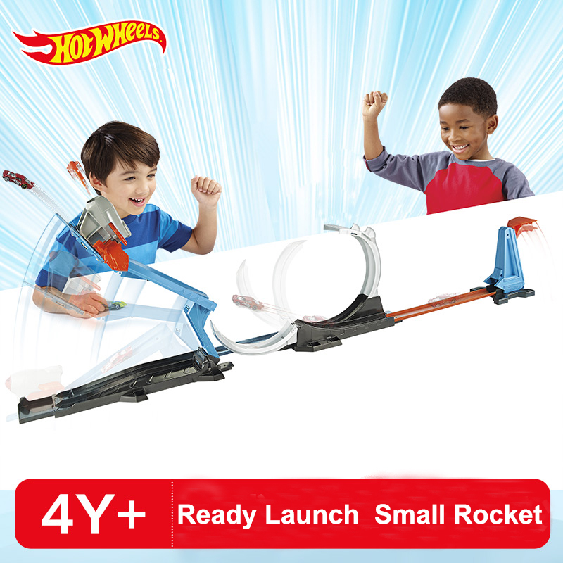 Popular Toys New Hot Wheels Track Car Toy Hotwheels Rocket Launching Trick Variety Leap Track Boy Car Toy Best Birthday Gift Flk60 And To Have A Long Life.