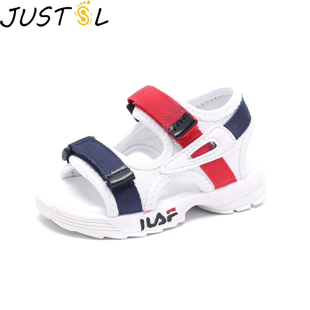 Baby Comfortable Sandals Summer New Boy Girls Beach Shoes Kids Casual Sandals Children Fashion Sport Sandals Size 21-25