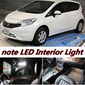 3pcs X free shipping Error Free LED Interior Light Kit Package for nissan note accessories 2012-2016