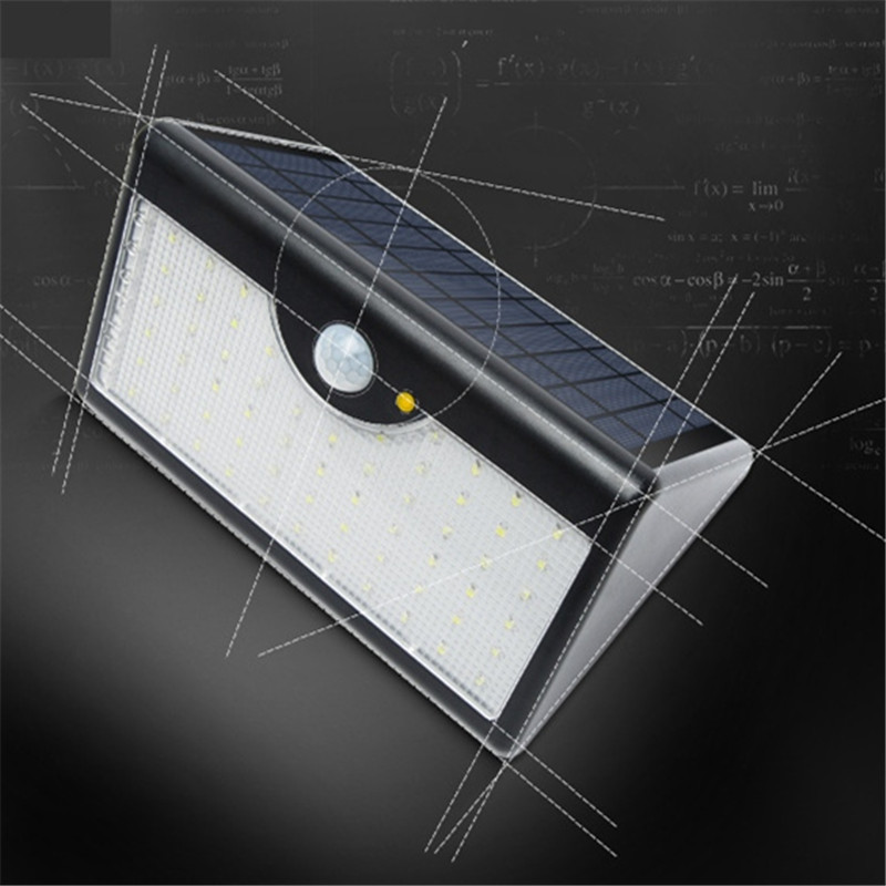 Super Bright LED Solar Panel Wall Porch Light Waterproof 60 led Garden Outdoor Street Stairs Lamp Remote Control Garland Decor 10pcs remote control solar panel powered road light 20w 30w 50w led street light outdoor garden path spot wall emergency lamp