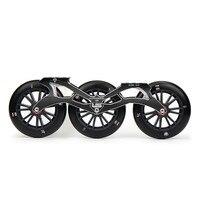 Flying Eagle ультразвуковой скоростные коньки рамка 3X125 мм 88A колеса ILQ 9 подшипники Алюминий ЧПУ 10,5 ''267 мм Скорость Patine бассейна