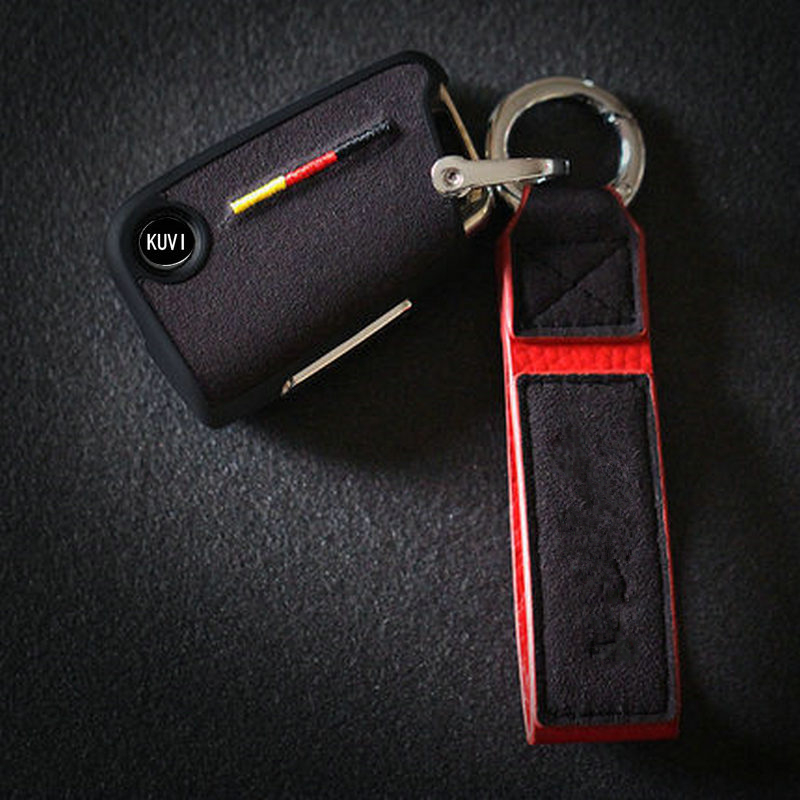 cheapest Genuine Leather Car Key Cases For Renault Clio Talisman Megane Scenic Kadjar Captur Koleos Smart Remote Fob Shell Cover