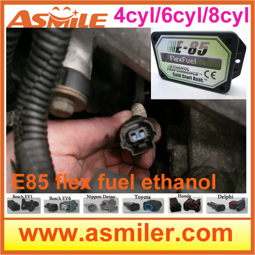 E85 ethanol car conversion kit with 4cyl 5pcs/lot DHL EMS free price from Asmile цены