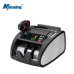 Good Quality Banknote Bill Banknote Counter Machine Detector LED Currency Banknote Fake Credit Card USD EUP Checkout NX-560B