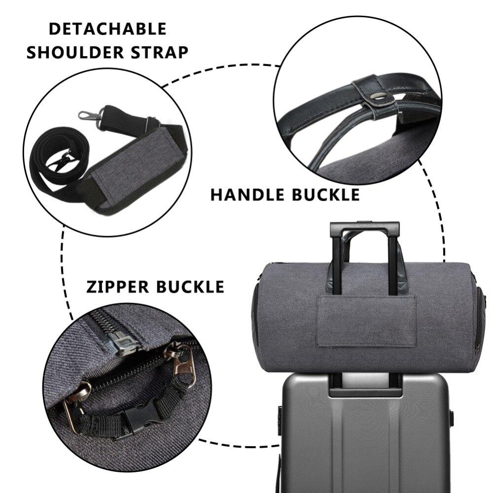 Modoker ใหม่กระเป๋าเดินทางกระเป๋าสะพายสายคล้องกระเป๋าแฟชั่นธุรกิจกระเป๋าถือแขวนเสื้อผ้าหลายกระเป๋าคุณภาพสูง-ใน กระเป๋าเดินทาง จาก สัมภาระและกระเป๋า บน AliExpress - 11.11_สิบเอ็ด สิบเอ็ดวันคนโสด 3