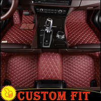 Custom fit car floor mats liners for BMW 3 Series E90 E92 E93 F30 F34 2008-2013 2014 2015 2016 2017 2018 cars liners carpet mats