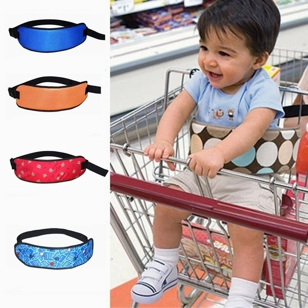 New Safety Belt Supermarket Stroller Infant Kids Chair Seat Belt Children Cotton Belts for Baby Shopping Cart Wraps Strap