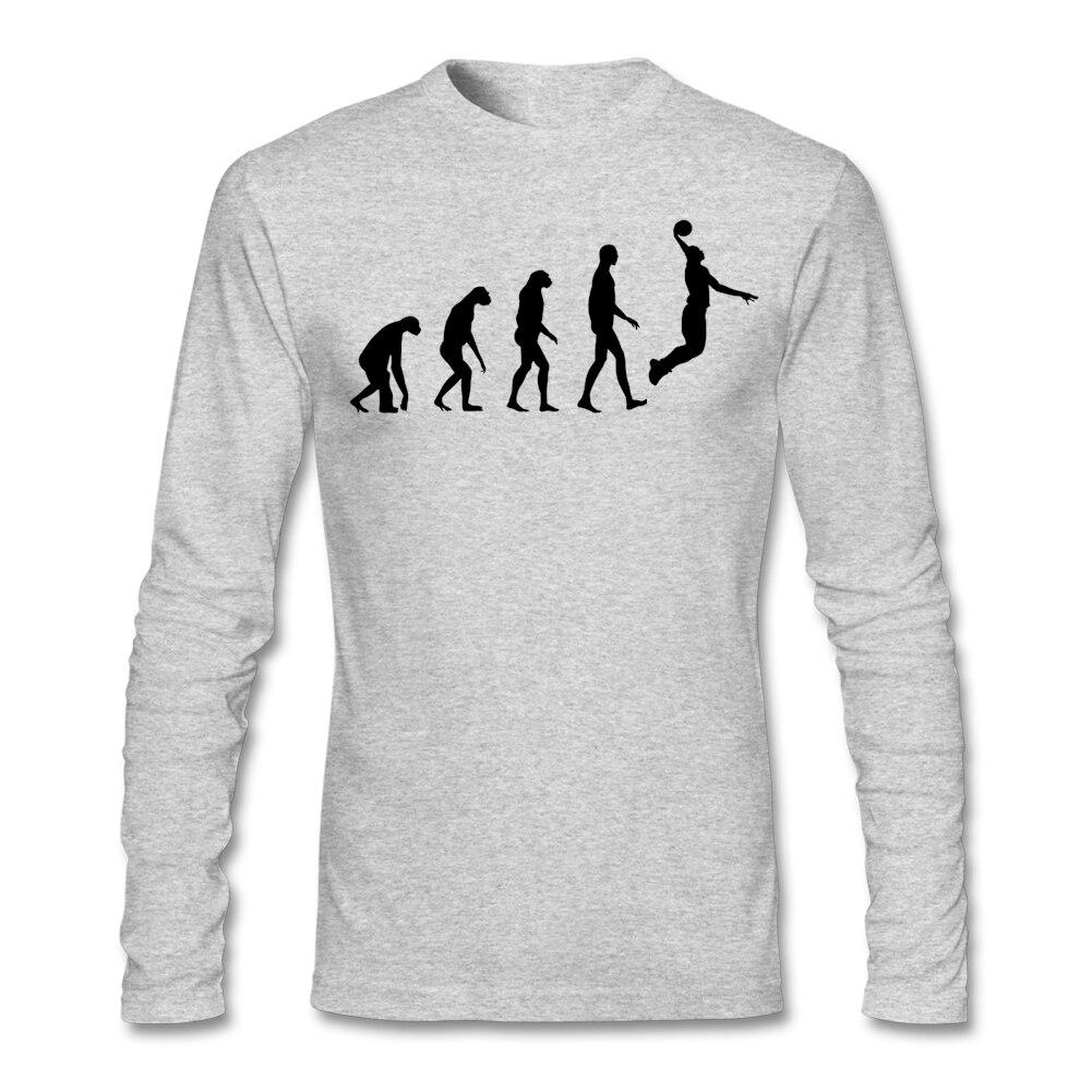 Tshirt design - Custom Long Sleeve Valentine S Love Evolution Basketball Shirt Men Male Top Design Plus Size His And