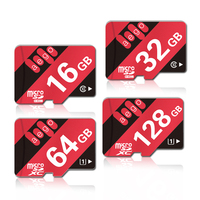 AEGO Real Capacity Memory Card 32GB Micro Sd Card 16GB 64GB 128GB Class10 UHS 1 High