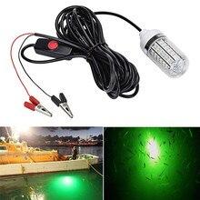 12V Рыбалка светильник 108 шт. 2835 Светодиодный подводный рыболовная наживка с подсветкой Рыболокаторы лампа привлекает креветки кальмар криля(4 цвета