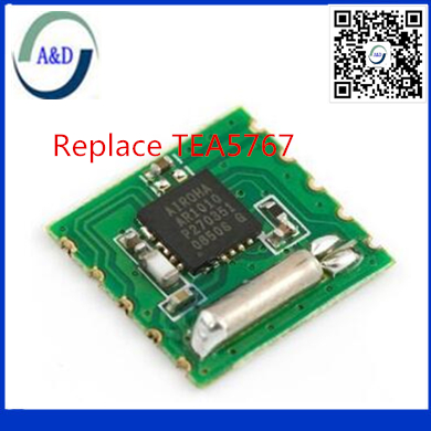 1pcs free shipping AR1010 radio module supports digital broadcasting systems 30415 replace TEA5767