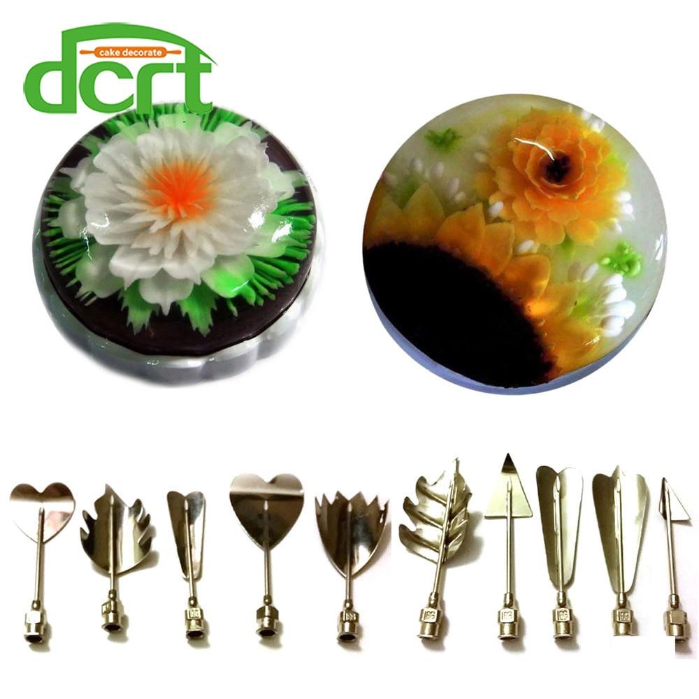3D želé květinové umělecké nástroje 3D želatina umělecké - Kuchyně, jídelna a bar