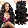 7A Peruvian Virgin Hair Body Wave 4Bundles Deals Adina Hair Weave Human Hair Bundles Unprocessed Virgin Peruvian Hair Body Wave