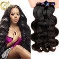 Ofertas de Adina 7A Peruana Virgin Hair Body Wave 4 Bundles Armadura Del Pelo Humano Paquetes de Pelo Sin Procesar Virginal Del Cuerpo Del Pelo Peruano onda