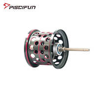 Piscifun Elite Baitcasting Reel Aluminum Lightweight Spool Magnetic Brake Dual Baitcasting Reel Spare Parts Replacement