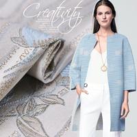 140m wide 350g/m custom high grade jacquard brocade fashion fabric autumn and winter haute couture clothing fabric