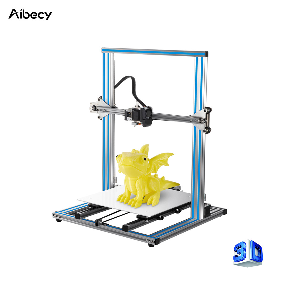 hight resolution of  aluminum structure aibecy dy h9s diy 3d printer large print size with