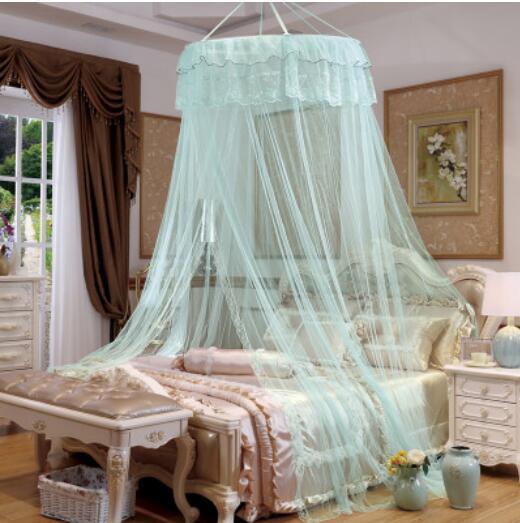 US $29.69 10% di SCONTO Stile antico principessa letto a baldacchino  zanzariera rete nuova camera da letto mesh tende-in Zanzariera da Casa e  giardino ...