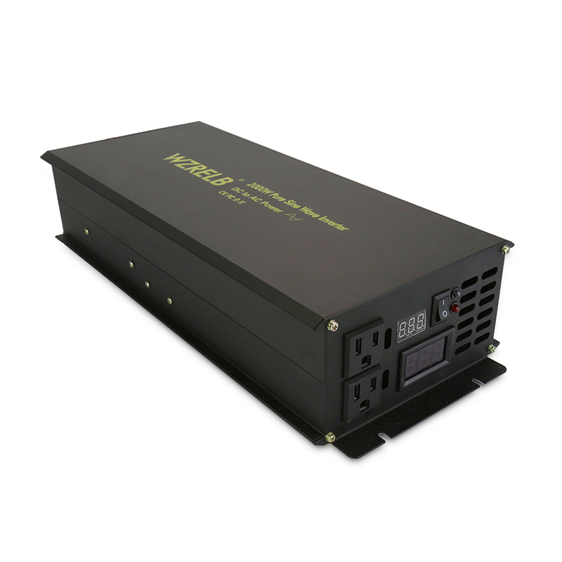 2000W Off Grid Pure Sine Wave Solar Inverter 24V 230V Backup Power Inverter Transformer 12V/36V/48V/110V DC to 120V/220V/240V AC