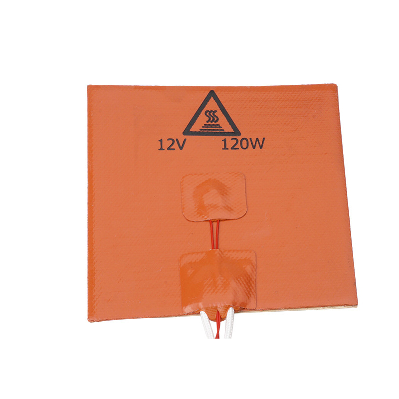 Mini Heatbed 120x120mm 12V 120W Silicone Heating Pad With 3M Thermal Adhesive For Reprap 3D Printer Heating Mat Hotbed Parts