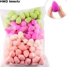 Venta al por mayor Mini maquillaje esponja forma de gota de agua maquillaje base suave puff corrector impecable mezcla de esponja de maquillaje cosmético