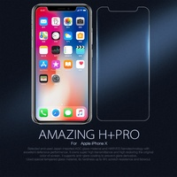 NILLKIN For IPhone X Amazing H PRO Nanometer Anti Explosion Tempered Glass Screen Protector For IPhone