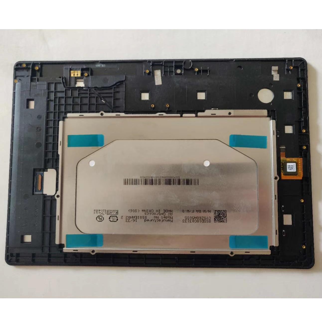 Avec Cadre LCD Pour Lenovo Tab 2 A10-30 YT3-X30 X30F TB2-X30F TB2-X30L A6500 ÉCRAN LCD Écran Tactile Digitizer Capteur Remplacer