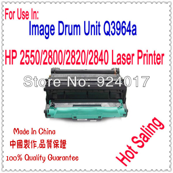 For HP Color Laserjet Q3964A Image Drum Unit,For HP Color Laserjet 2550 2820 2800 Printer,For HP 2550 2840 3964 Drum Unit Refill hp 828a magenta laserjet drum cf365a